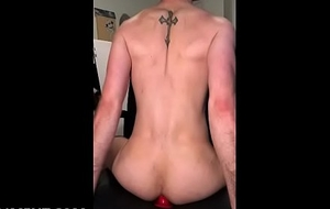 sissyformen blogger railing a red anal insert like beyond the shadow of a doubt gay boi