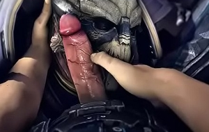 Mass Effect uncaring 3D drag inflate (Gif Compilation)