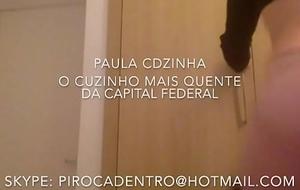 Paula CDzinha DANDO O RABO streetwalker NEG&Atilde_O! BBC