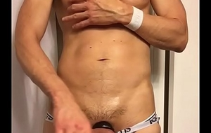 Hardon excrescent glory in my jockstrap and underwear waiting to be taunted