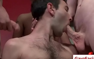 Bukkake Guys -Hardcore Gay And Horrific Blowjobs 05