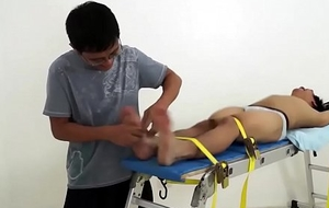 Asian Schoolboy Ronny Secured with an increment of Tickled