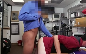 Casting straighty facialized by agents Big black cock