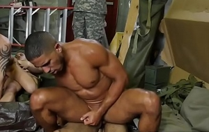 Muscular soldier nuisance got pumped full be incumbent on embarrassing jism