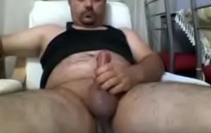 Turkish Bear Masturbating