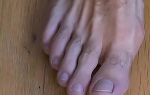 Titillating gay dude Cole wishes you could cum her high horse hairy feet