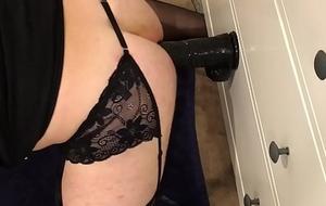 sissy railing the brush Big black cock