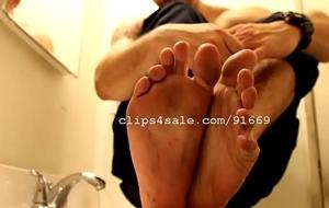 Foot Amulet - Edward Feet Part2 Video3