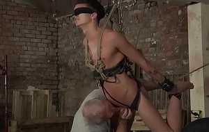 Half-starved pro Reece Bentley gets tortured by Charley Cole