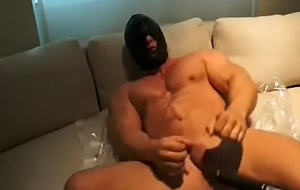 Muscle Tramp Fucked wits Machine
