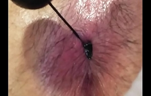 Virgin college little shaver Carrying-on relating to his advanced anal beads