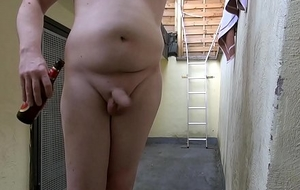 of age cinema: hairless and drunk nude flashing and short gloryhole blowjob (2017)