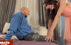 Giving ladyman day assfucked by fortuitous boyfriend