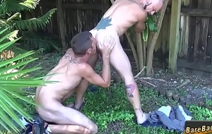 Tattooed hunks botheration fucked