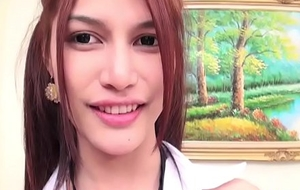 Teen Ladyboy Pan Without a condom Anal