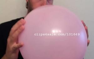 Balloon Charm - Luke Balloon Blowing Video 2