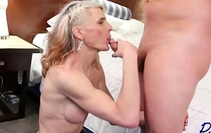 relating to in the mouth cowgirl Micha receives dicked relating to