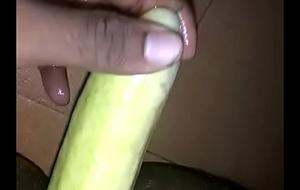 Cucumber concerning pest - bisexual guy