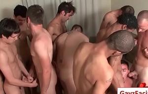 Bukkake Gay Boyz - Naff bareback facial cumshot soirees 19