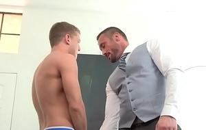Teacher Myles bonks his gay pupil Ian Levine